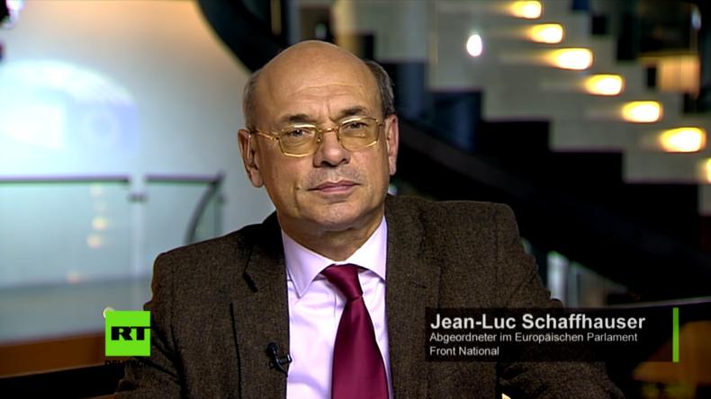 """Jean-Luc Schaffhauser zur Anti-Propaganda-Resolution der EU: """"Wir leben in einem totalitären System"""""""