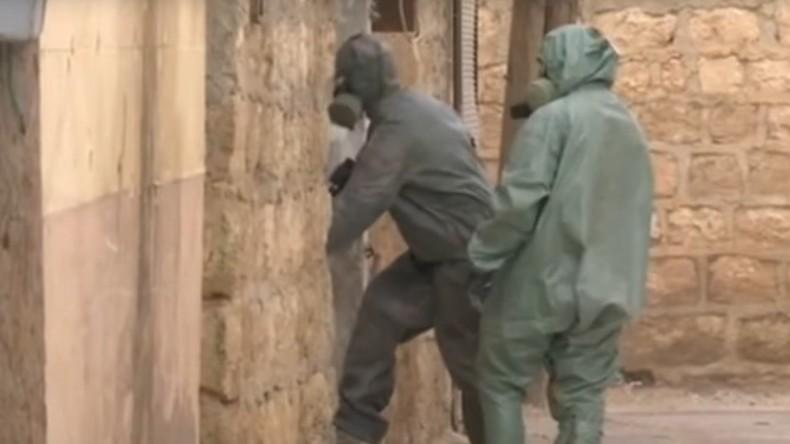 Russische Militärexperten: Terroristen setzten Senfgas in Aleppo ein