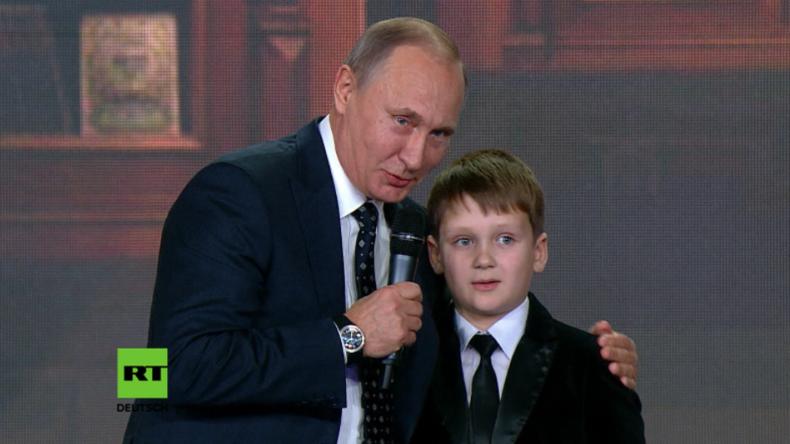 """Putin: """"Die Grenzen Russlands enden nirgendwo"""""""