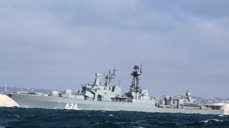 Russisches Kriegsschiff rettet ukrainischen Fischkutter im Mittelmeer
