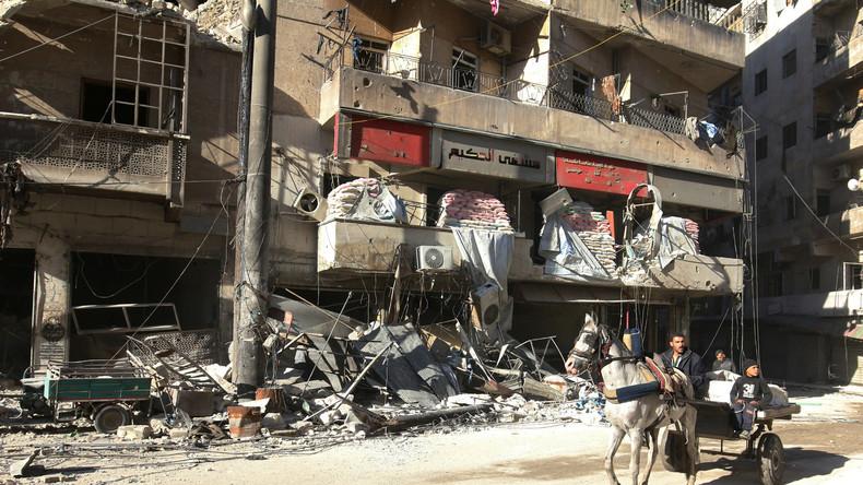 Aleppo: Syrische Truppen befreien 80 Prozent der Terroristen-Hochburg
