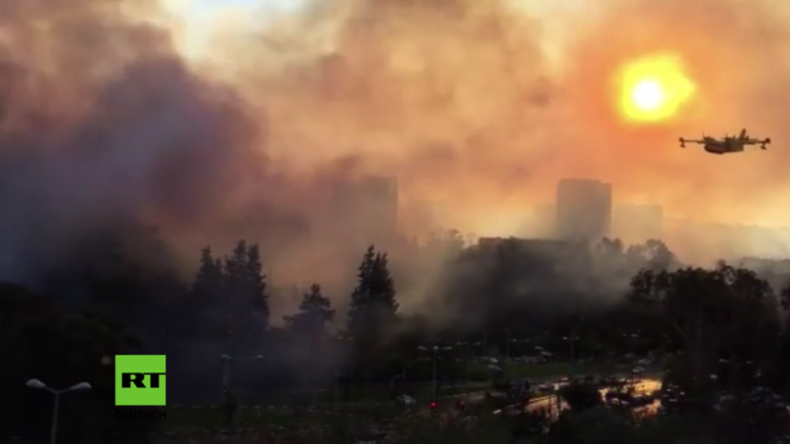 Neue Angriffstaktik der Hamas? Israelische Behörden vermuten Palästinenser hinter wütenden Bränden