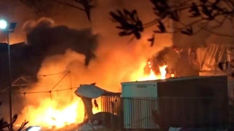 Schwere Unruhen in Flüchtlingslagern in Griechenland und Bulgarien