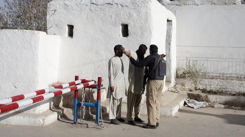 Pakistanische Grenzsoldaten töten vier islamistische Angreifer