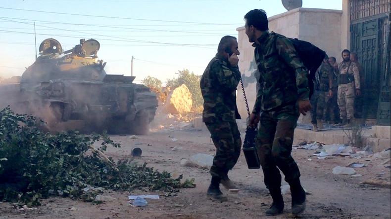 Aleppo: Regierungstruppen befreien einen strategisch wichtigen Bezirk im Osten der Stadt