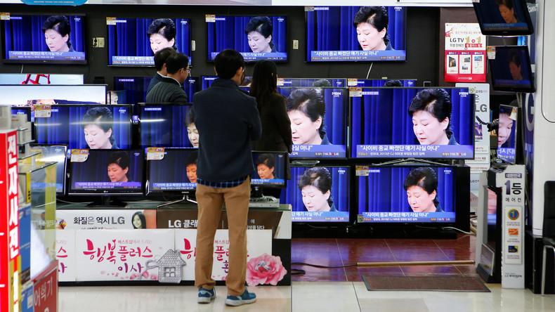 Südkorea: 1,6 Millionen Menschen protestieren gegen die Staatschefin Park Geun-hye