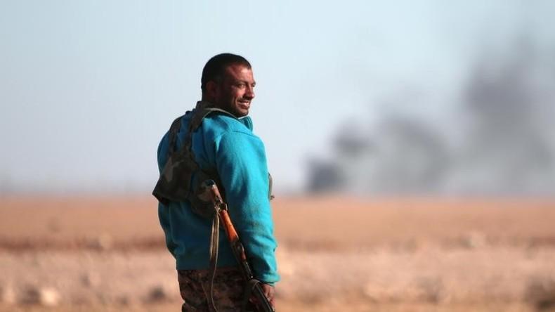 Syrien: IS-Kämpfer setzen C-Waffen gegen Opposition ein