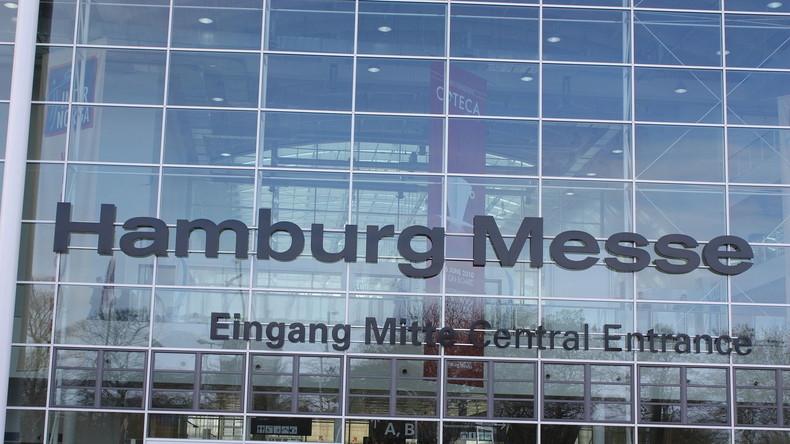 Hamburg: Unbekannte setzen Messehallen in Brand