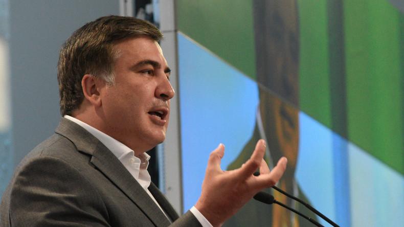 Micheil Saakaschwili ruft zu vorgezogenen Parlamentswahlen in der Ukraine auf