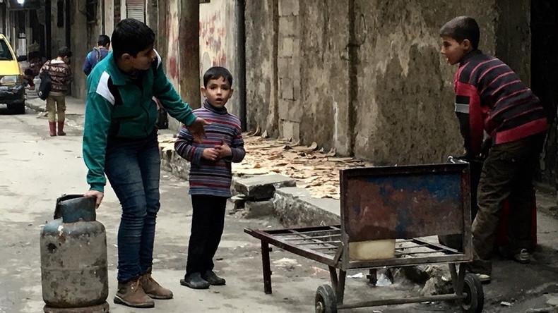UNICEF: Fast eine halbe Million syrische Kinder leben unter Belagerung