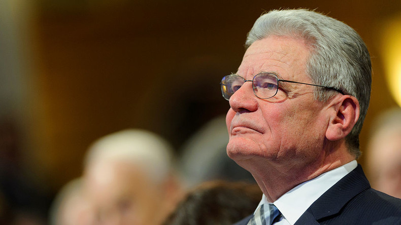 Joachim Gauck fordert Pause bei europäischer Integration