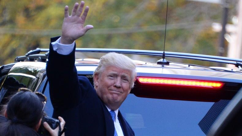 """US-Wahlen und kein Ende: Trump nennt Ruf nach Neuauszählung """"Betrug"""""""