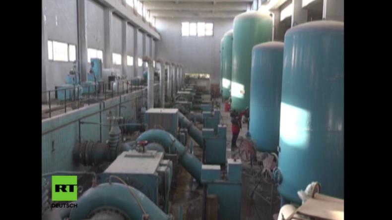 Ost-Aleppo: Wasserwerk wieder in Regierungshand – Islamisten kappten Versorgung für Bevölkerung