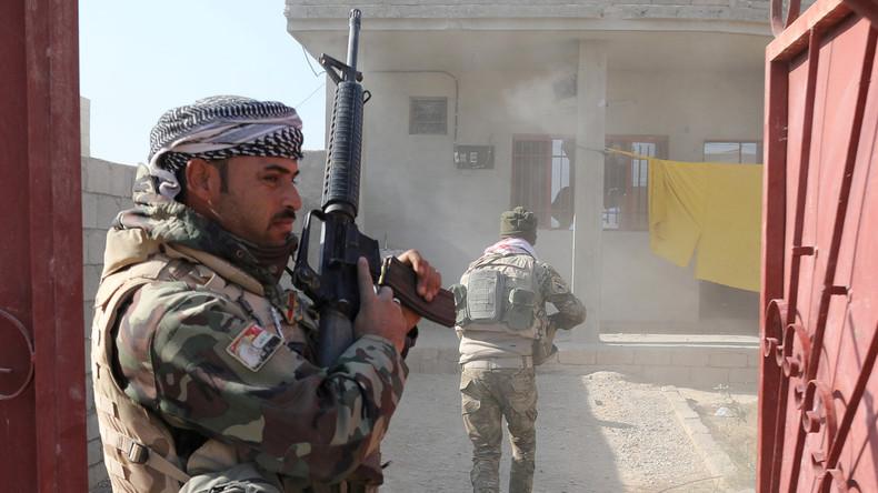 Mossul: Seit Beginn der Offensive ein Fünftel der IS-Kämpfer neutralisiert