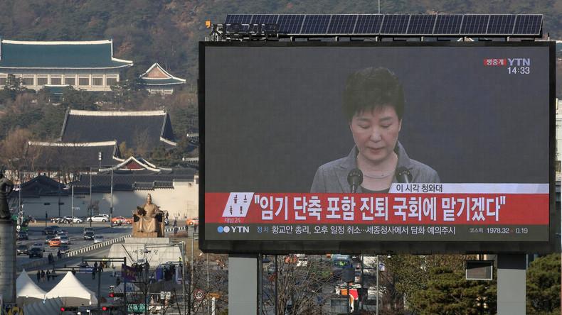 Südkoreanische Staatschefin erklärt sich zum Amtsrücktritt bereit