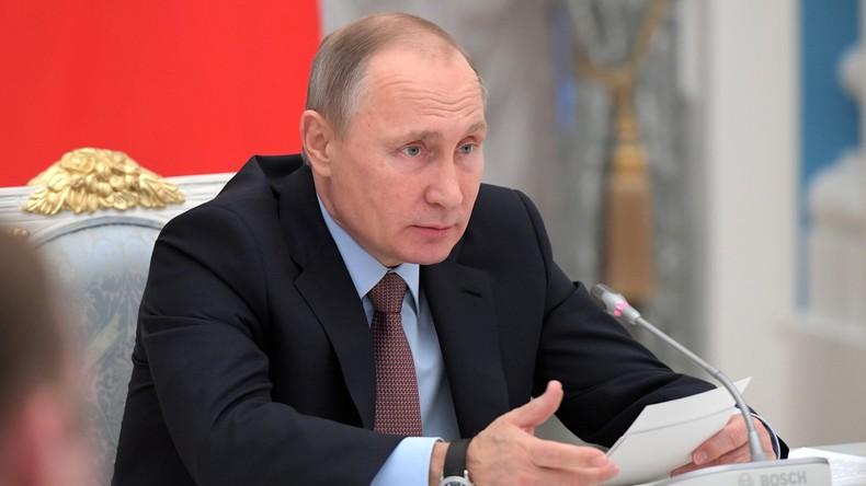 Ämterhäufung verboten: Putin entlässt demonstrativ Spitzenbeamte