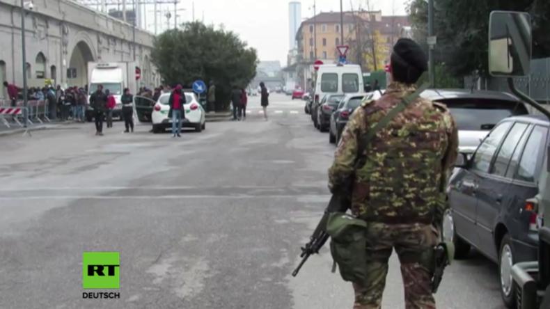 Italien: Tausende Soldaten sollen Problemviertel in den Griff kriegen