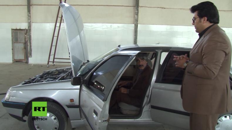 """Iran: Wissenschaftler stellt """"wasserbetriebenes"""" Auto vor"""