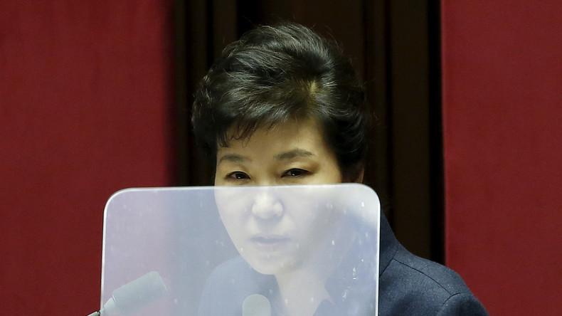 Drei südkoreanische Oppositionsparteien drängen auf Amtsenthebung von Präsidentin Park Geun-hye