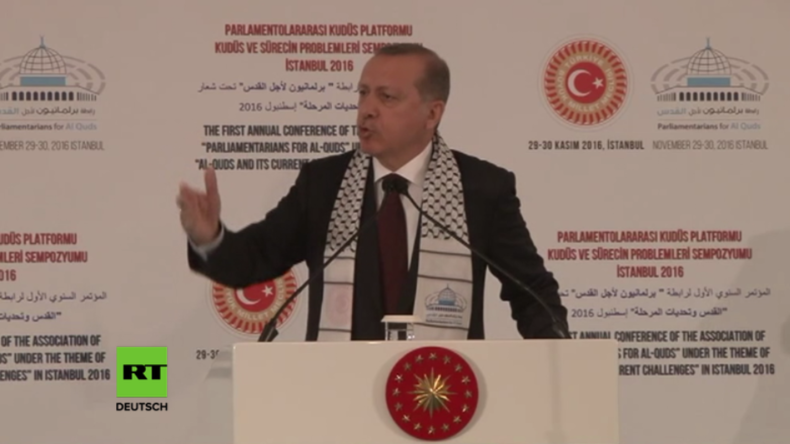 Erdogan: Militäroperation der Türkei in Syrien für Gerechtigkeit und Sturz von Assad
