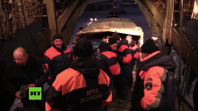 Putin entsendet mobiles Krankenhaus und Rettungsteam für Kranke und Verletzte in Aleppo