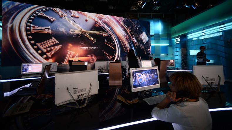 Die Ukraine beendet Zusammenarbeit mit russischem Fernsehen und Rundfunk