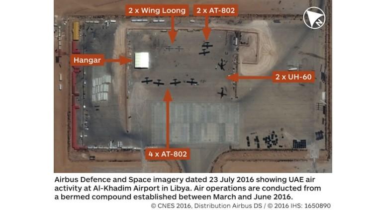 Vereinigte Arabische Emirate und Frankreich bauen in Libyen Militärbasis für Ex-CIA-General Haftar