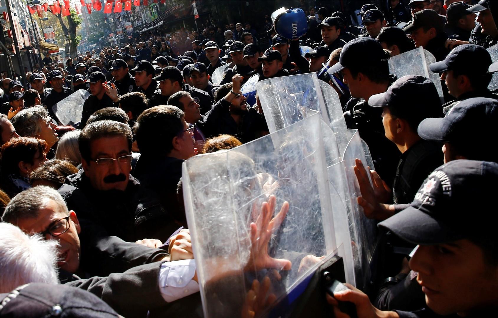 Live-Update: Verhaftungen in der Türkei - Aufstand in den kurdischen Gebieten