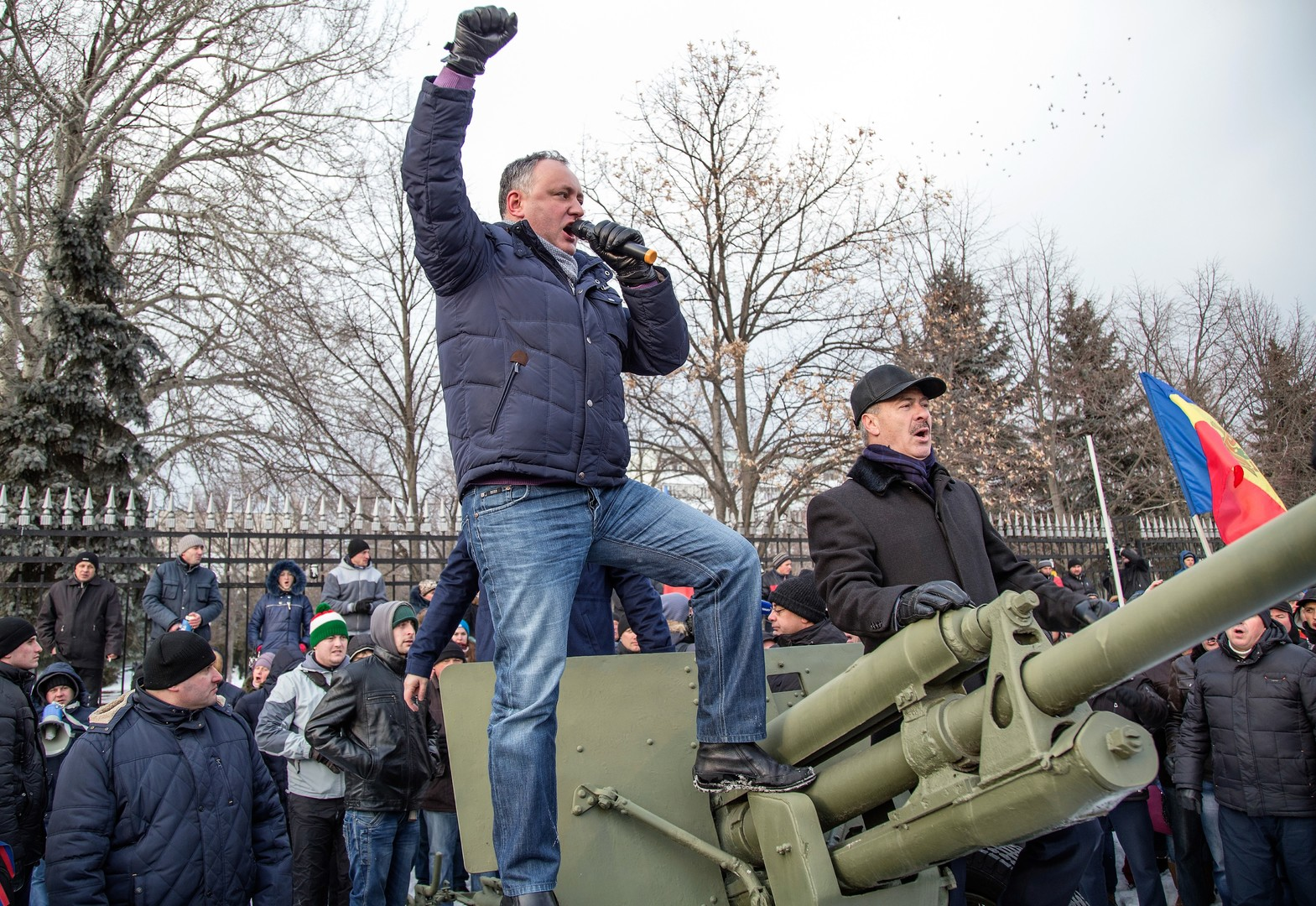 """Igor Dodon: Schicksalhafter Sieg eines """"pro-moldawischen"""" Kandidaten"""