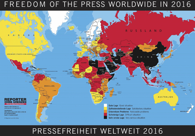 Reporter ohne Grenzen: Schutz von Journalisten und westliche Propaganda aus einer Hand