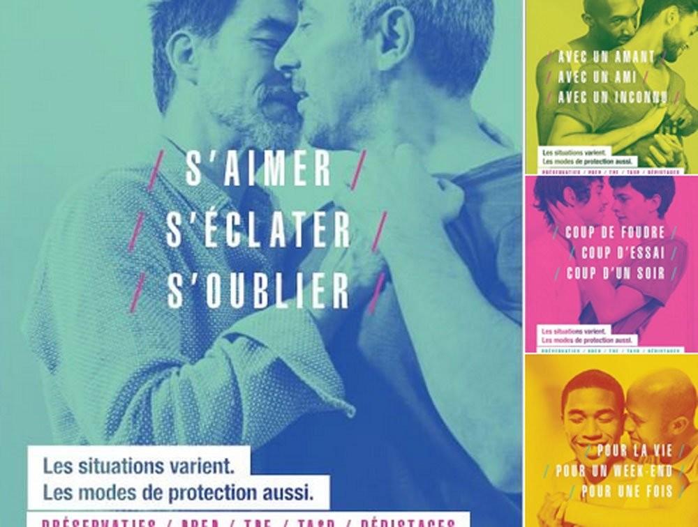 Öffentliche Moral: Zwei AIDS-Kampagnen spalten Frankreich