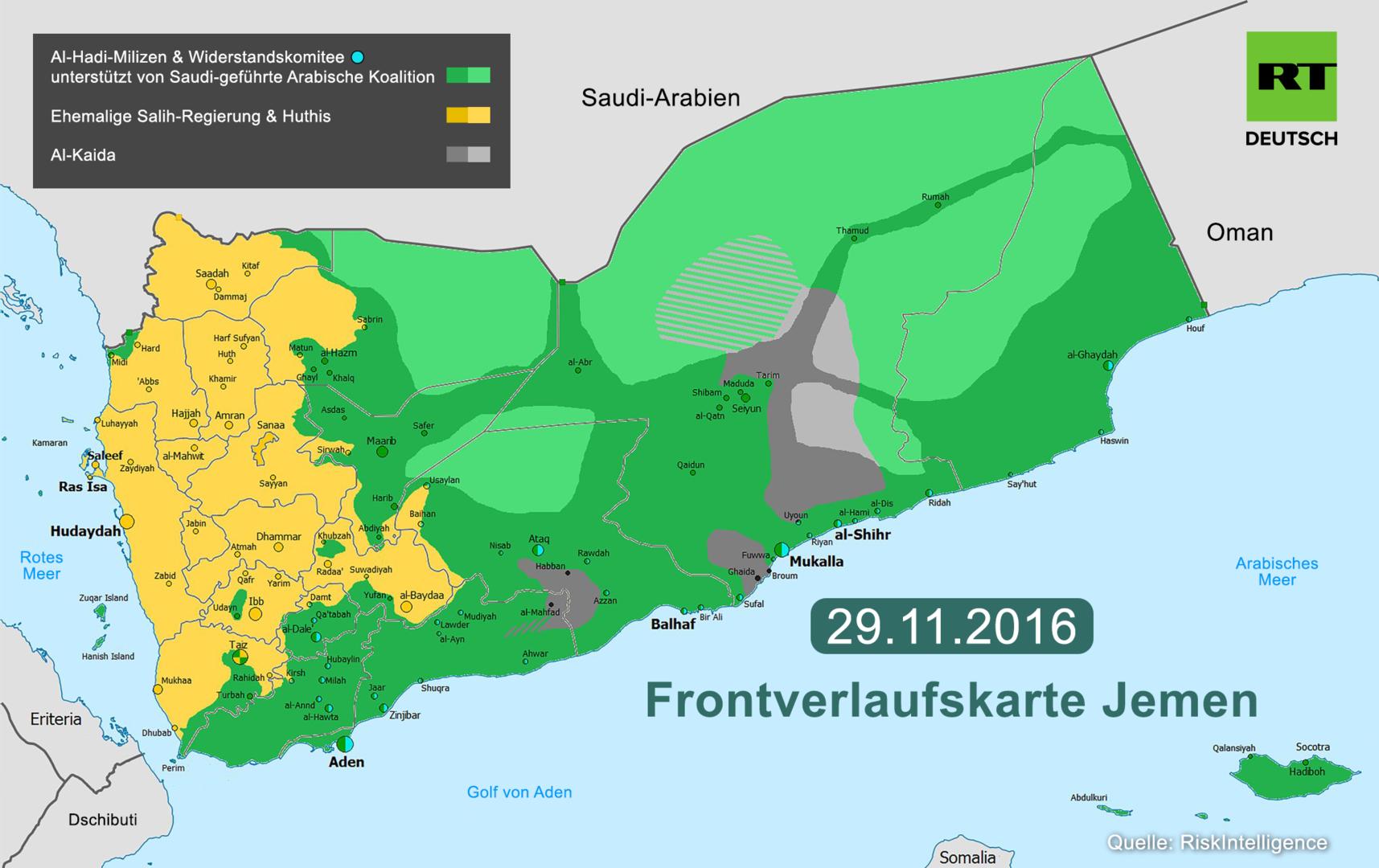 Interview zum Jemen-Konflikt: Saudi-Günstling el-Hadi untergräbt mögliche Friedenslösung