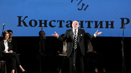 Konstantin Raikin im russischen Staatstheater.