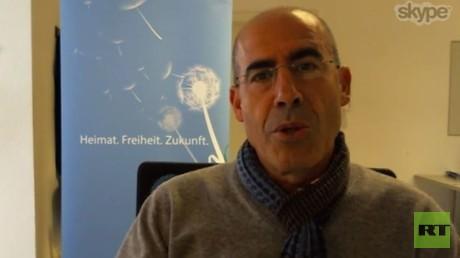 Mehmet Tanriverdi,stellvertretender Bundesvorsitzenden der Kurdischen Gemeinde in Deutschland