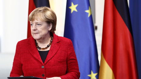 Gegen Mittag gab Bundeskanzlerin Angela Merkel eine Stellungnahme zur Wahl Donald Trumps ab.