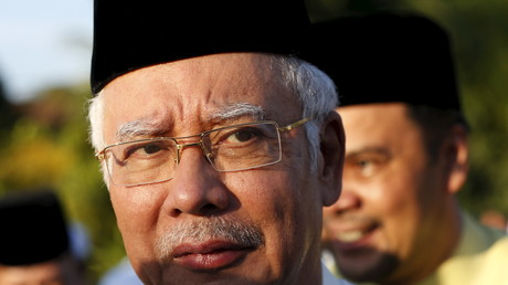 Der Premierminister von Malaysia, Najib Razak; Kuala Lumpur, 5. Juli 2015.