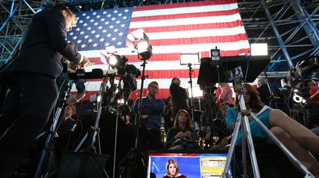 Medienereignis US-Wahlen: Doch es lief nicht ganz im Sinne des Mainstreams.