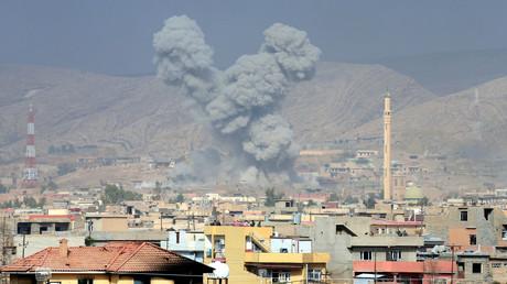 IS-Kämpfer setzen im Irak Chlorbomben ein (Symbolbild)