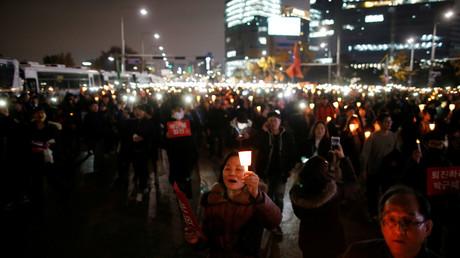 Südkorea: Mehr als 1 Million Menschen protestieren gegen die Staatschefin Park Geun-hye
