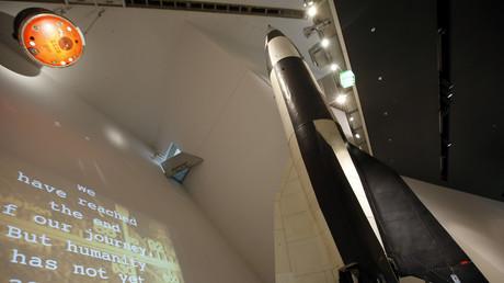 Objekt der Begierde: Ein Modell der V-2-Rakete wird heute noch im Dresdner Militärmuseum ausgestellt.