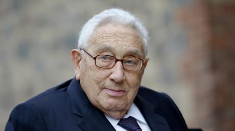 Der ehemalige US-amerikanische Außenminister Henry Kissinger, Berlin, Deutschland, 17. September 2015.