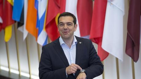 Der griechische Ministerpräsident Alexis Tsipras, Brüssel, Belgien, 11. Juni 2015.
