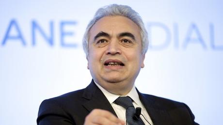 Der Chef der Internationalen Energie Agentur, Fatih Birol, auf einem Treffen in Rom; Dezember 2015.