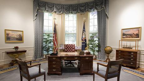 Medienberichte: Trump wird nicht ins Oval Office gelassen.