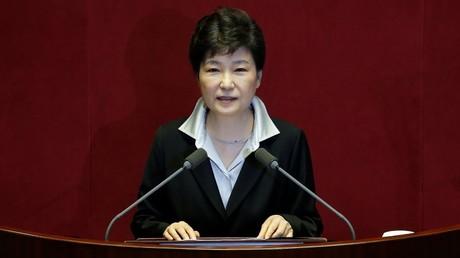 Südkoreas Generalstaatsanwaltschaft verdächtigt Staatschefin Park Geun-hye wegen Korruption