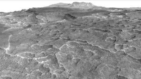 Riesiges Meer auf rotem Planeten entdeckt
