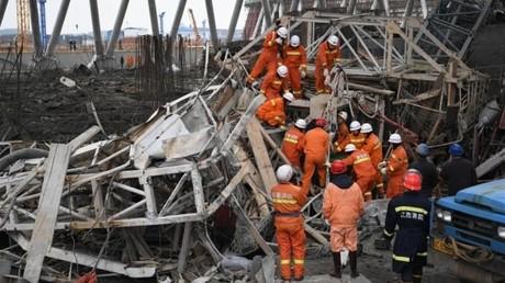 Kraftwerk-Einsturz in China – 40 Menschen tot geborgen