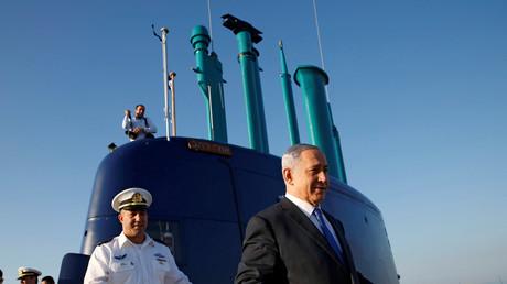 Benjamin Netanjahu auf der