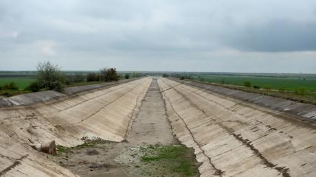 Wasserblockade für die Krim: Die Ukraine will Damm errichten