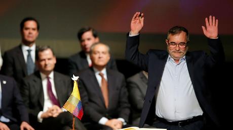 Der Chef der Guerilla FARC, Rodrigo Londono, auch bekannt als